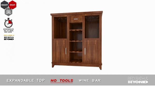 No Tools Wine Bar Bed Bath Amp Beyond