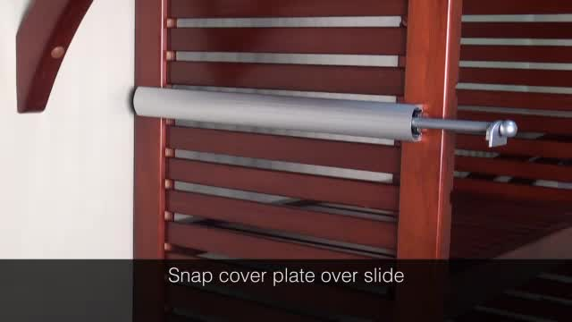 watch the video for john louis home honey maple deluxe closet organizer