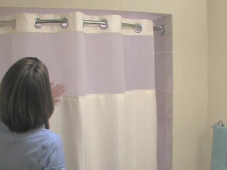 Bed Bath & Beyond TV - Watch: Hookless Shower Curtain
