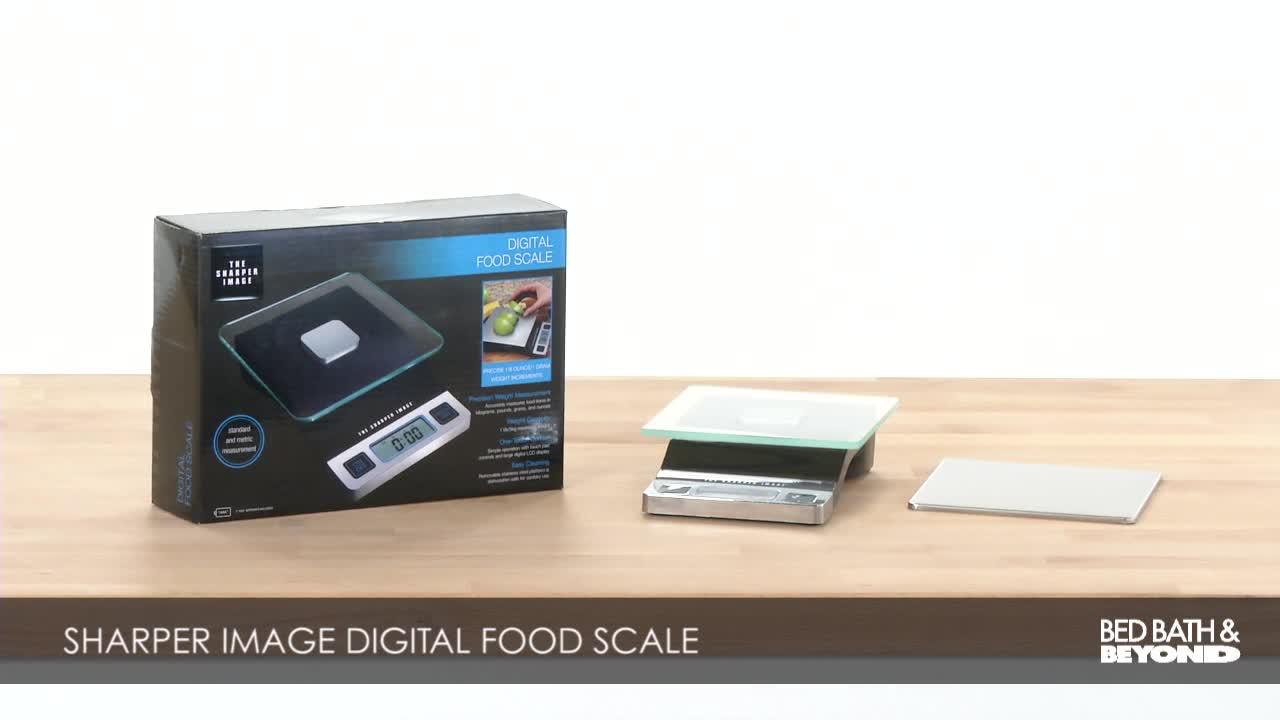 Sharper Image Precision Digital Food Scale Bed Bath Beyond