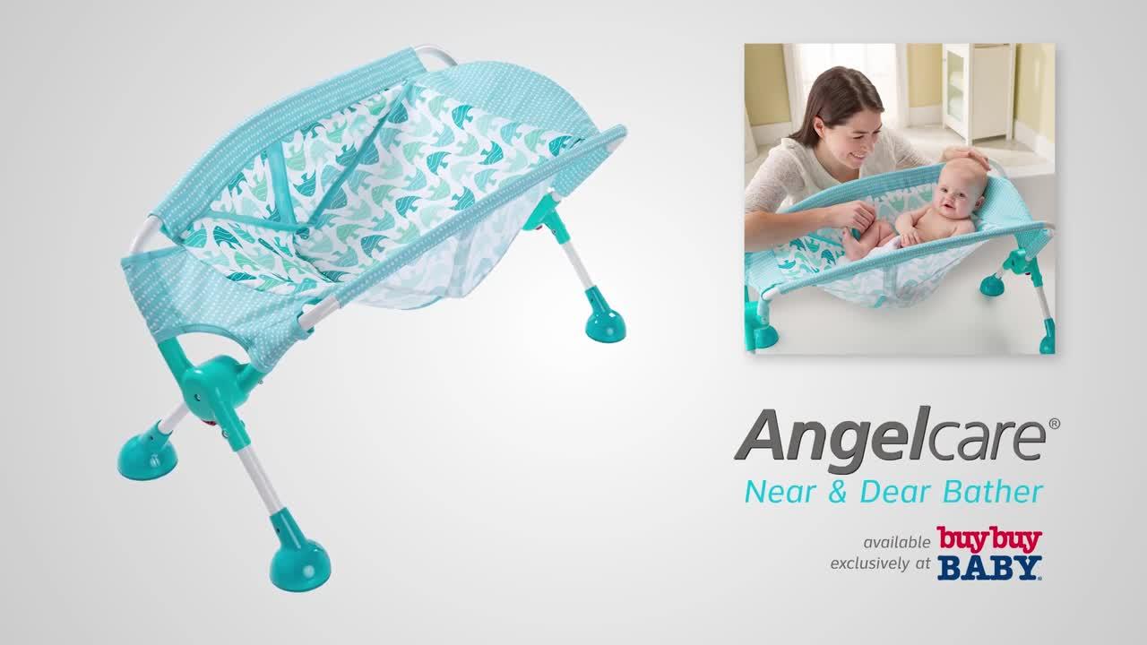 Angelcare Near and Dear Angelfish Bath Tub Bather - buybuy BABY