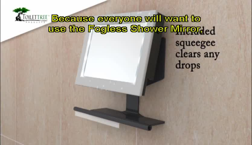 Genial Watch The Video For LED Fogless Lighted Shower Mirror
