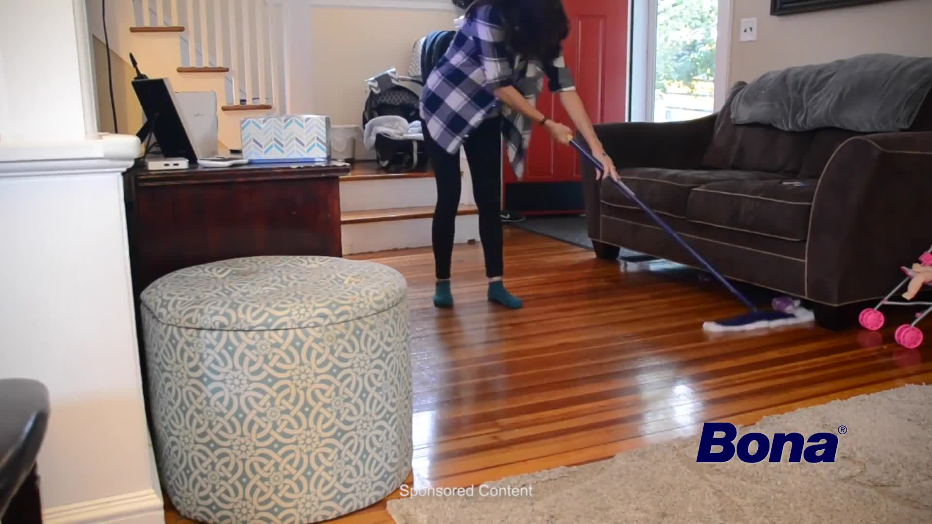 dusting furniture. Watch The Video For Bona\u0026reg; 10-Pack Disposable Dusting Cloths In Blue Furniture E