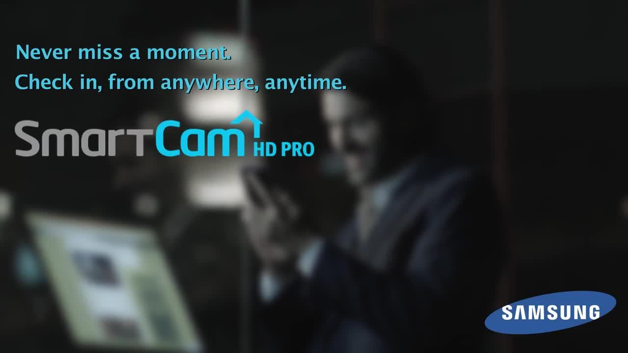 Samsung SmartCam HD Pro Wi-Fi IP Camera