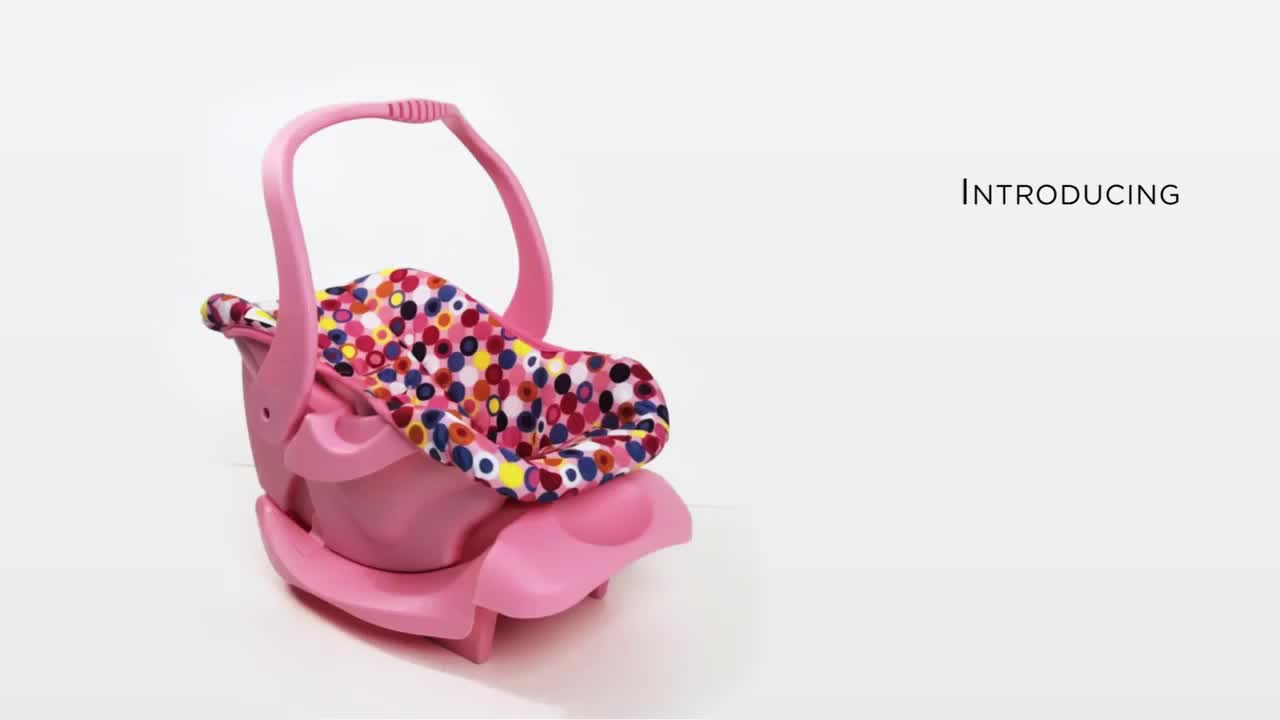 Joovy 174 Toy Infant Car Seat In Pink Bed Bath Amp Beyond