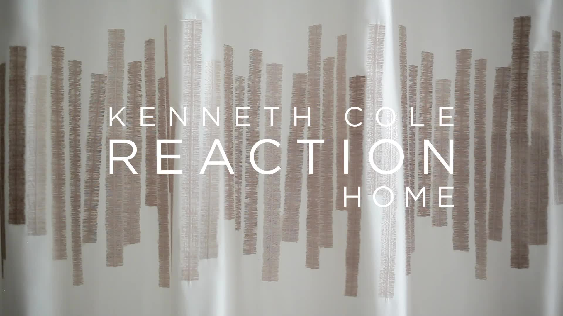 Lovely Watch The Video For Kenneth Cole Reaction Home Frost Shower Curtain