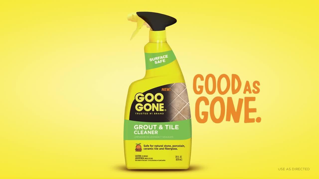 Goo Gone Grout Clean Restore 28 Ounce Spray Bottle Bed Bath