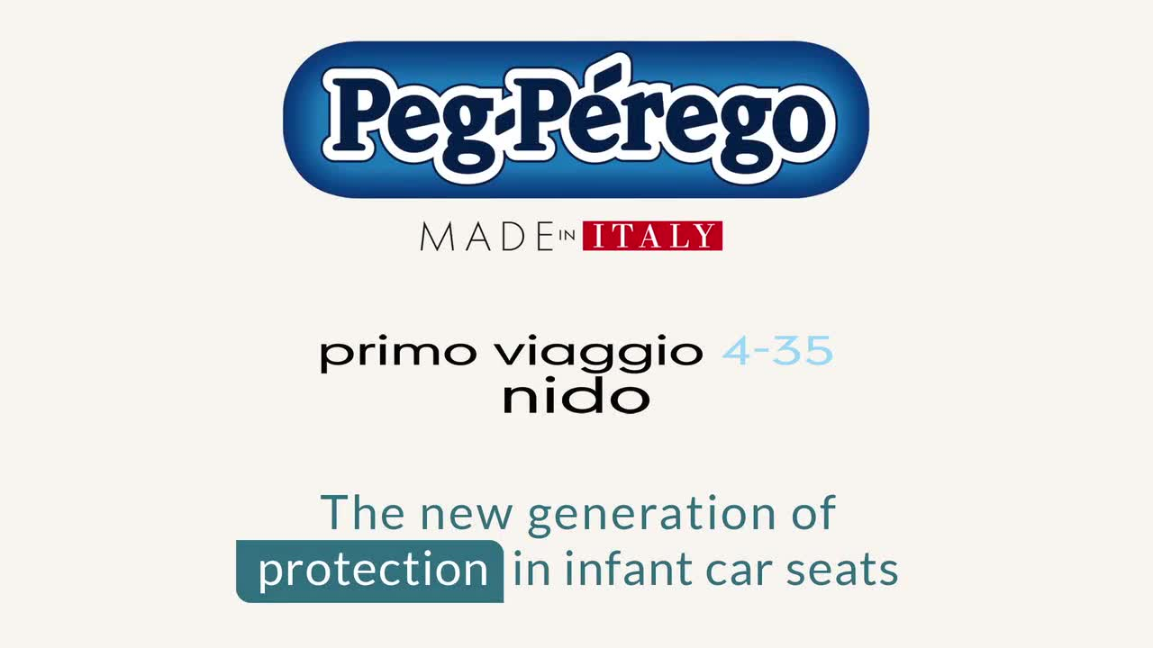 Peg Perego Primo Viaggio 4 35 Nido Infant Car Seat In