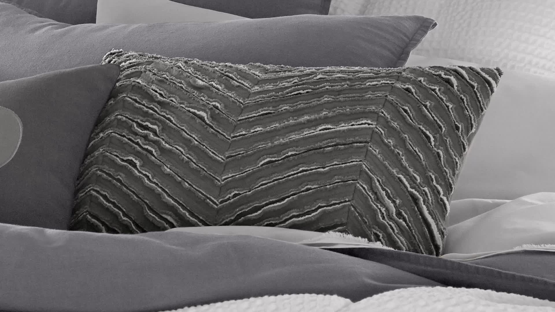Watch the video for Kenneth Cole Reaction Home Mineral Duvet Cover