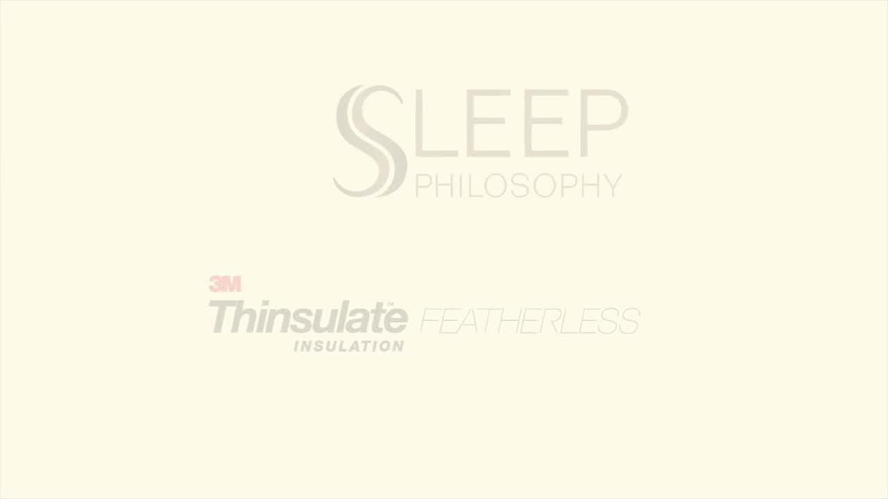 sleep philosophy level 1 warm down alternative comforter with 3m