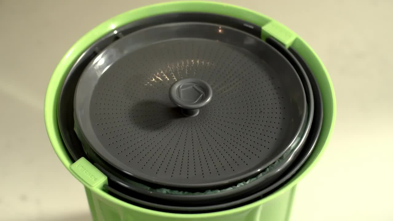 watch the video for full circle breeze 85 gallon countertop compost bin