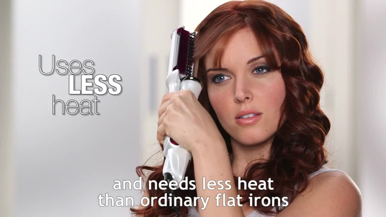 instyler® wet to dry rotating styling iron - bed bath & beyond