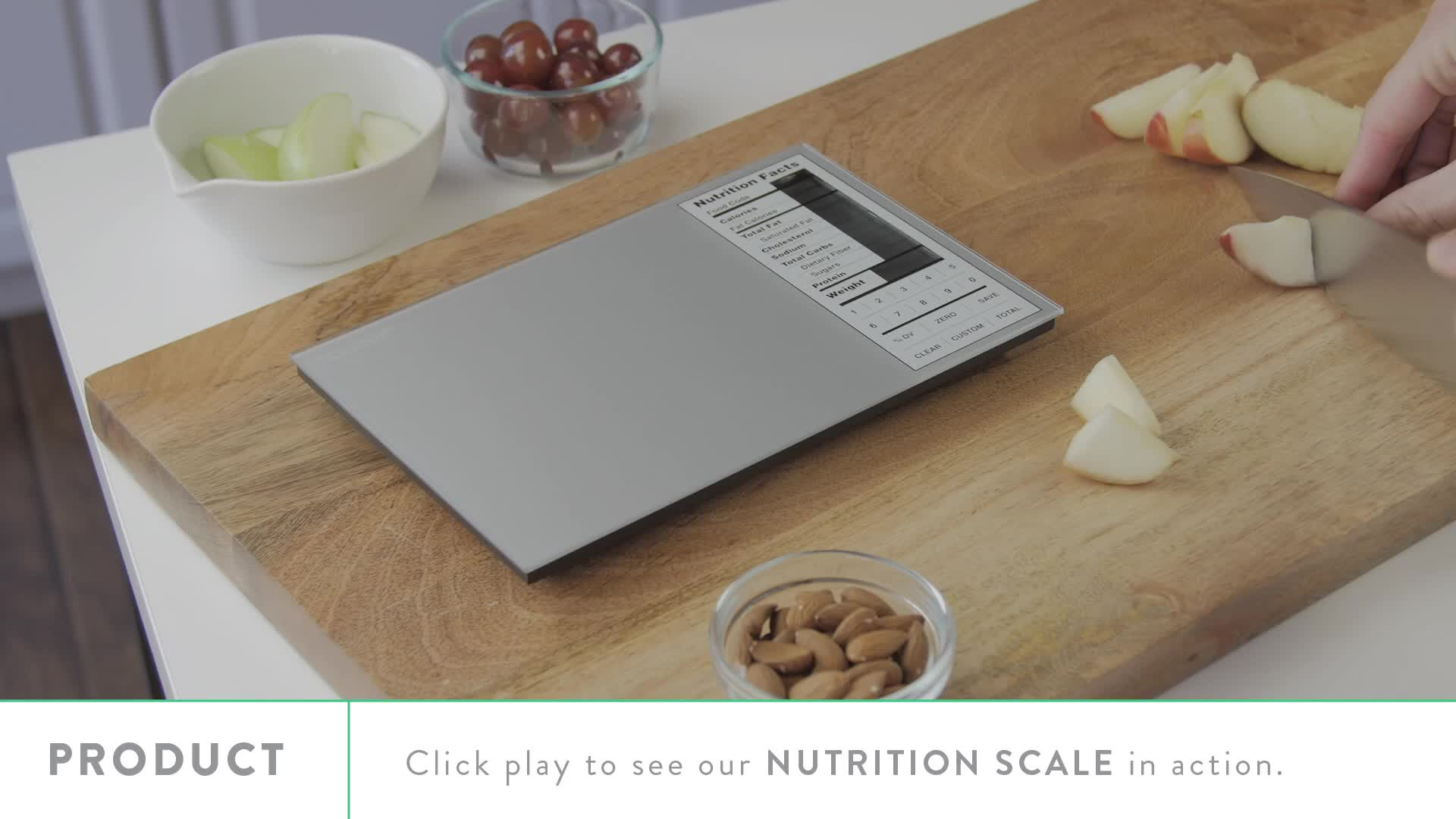 Watch The Video For Perfect Portions Digital Nutrition Food Scale