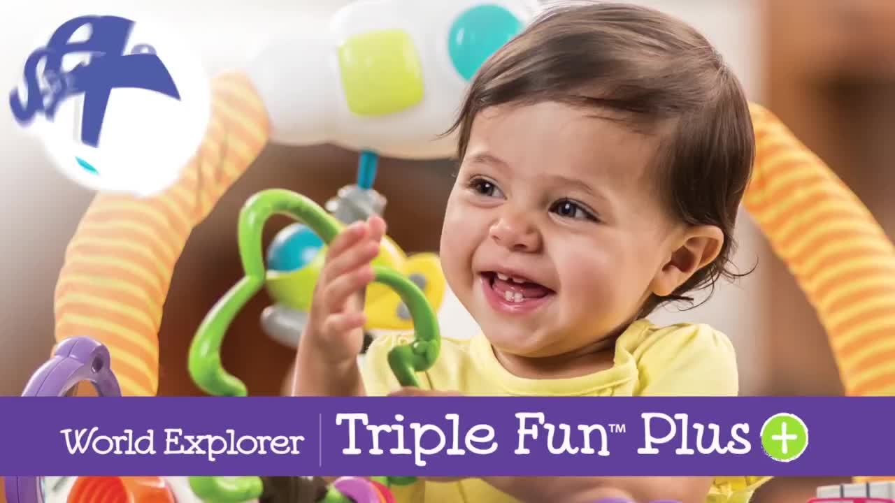 exersaucer triple fun world explorer activity center manual