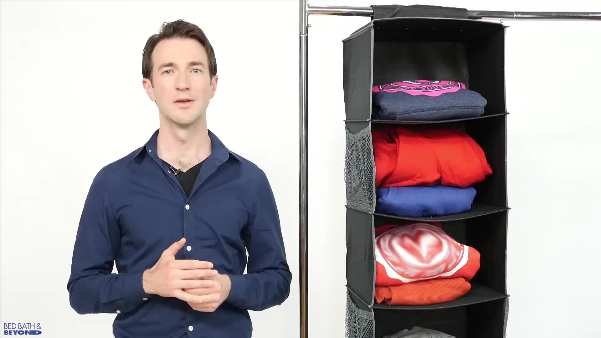 hanging the door sweater o pbteen for over organizer storage shoe products rotating closet