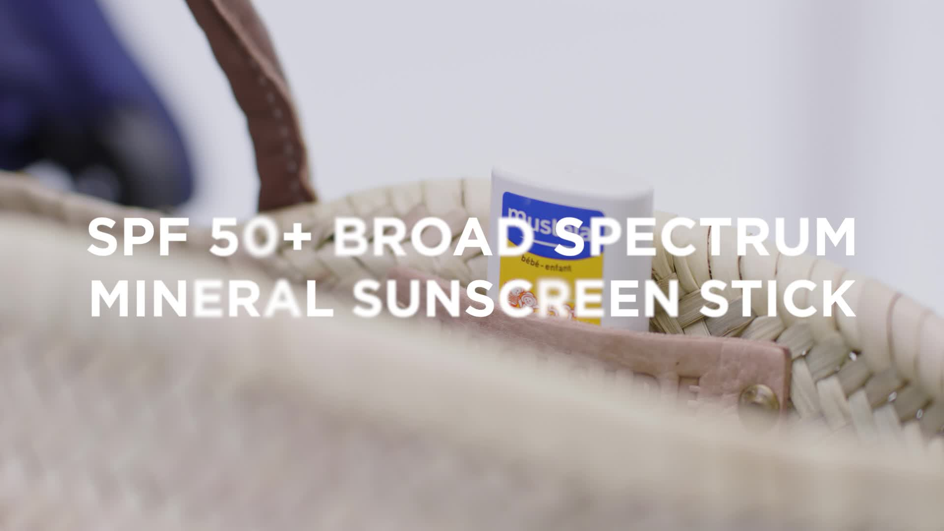 Mustela SPF 50+ .5 oz Broad Spectrum Mineral Sunscreen Stick