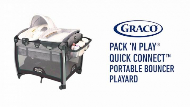 Graco Pack N Play Quick Connect Portable Bouncer With Binet Taylor Bed Bath Beyond