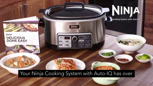 Ninja Cooking System With Auto Iqtm Cs960 Bed Bath Beyond