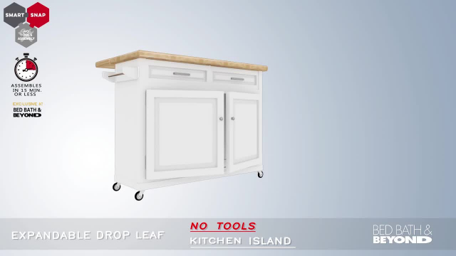 No Tools Kitchen Island Bed Bath Beyond