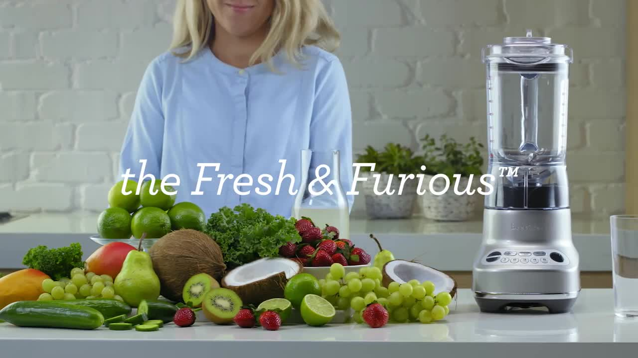 the Breville Fresh & Furious™ Blender - Product Demo - Bed Bath & Beyond