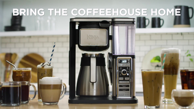 Ninja Coffee Bar Thermal Carafe System Video