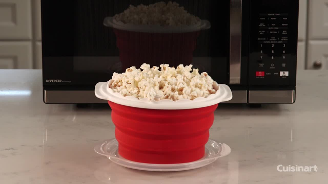 2245227a81a Click to Zoom. Alternate image 1 for Cuisinart® Collapsible Microwave  Popcorn Maker. Alternate image 2 for Cuisinart® Collapsible Microwave  Popcorn Maker