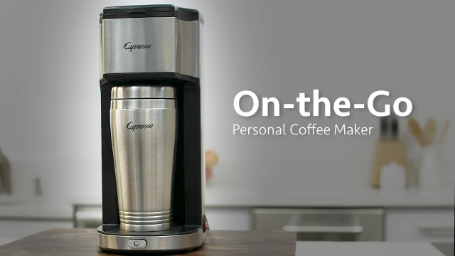 Capresso On The Go Personal Coffee Maker Bed Bath Beyond