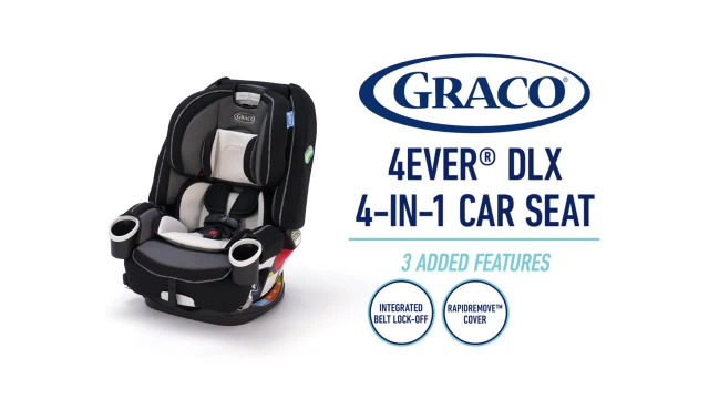 Graco 4ever Extend2fit 4 In 1 Convertible Car Seat In Clove