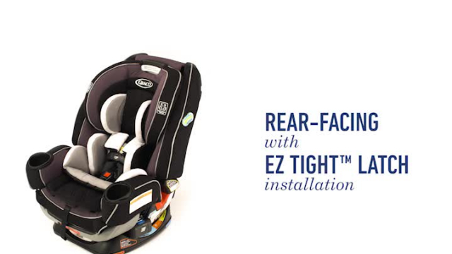 Graco 4ever Extend2fit Platinum 4 In 1 Convertible Car Seat