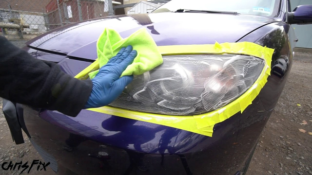 Headlight Restoration by Chris Fix A quick demo on how to restore your headlights.