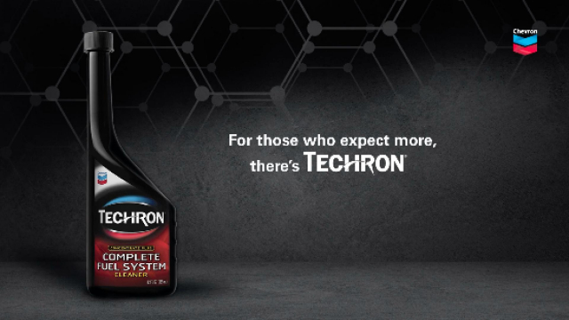 Techron Fuel Economy TECHRON® Concentrate Plus is a Complete Fuel System Cleaner that works in one tankful. It is formulated for gasoline powered passenger cars and light trucks, including carbureted, two-stroke, port fuel injected and direct injected engines.