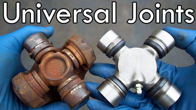 How to Diagnose and Replace Universal Joints (ULTIMATE Guide) Universal joint replacement and U joint noise. Learn how to tell if your u joints are bad and how to replace u joints in this in-depth, how-to video that covers every aspect of u joint replacement! I show you the three symptoms of a bad u-joint, how to remove the driveshaft, and how to replace the universal joint with a press and a hammer.