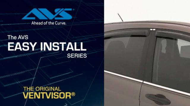 AVS Original Ventvisor installation video A step by step tutorial on how to install the AVS Original Ventvisor®.