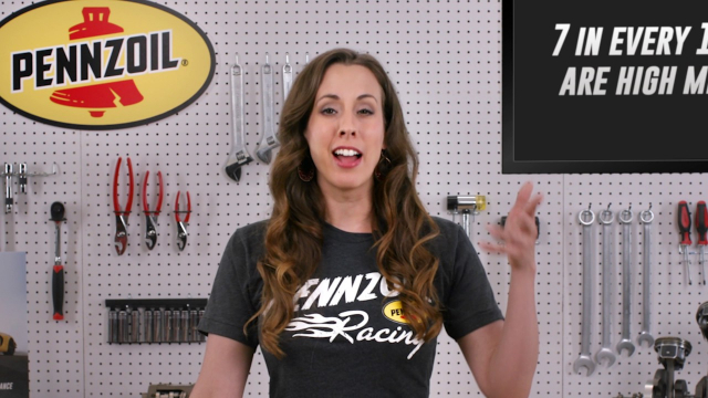 Know Your Oil: When is it Time to Make the Switch to Pennzoil High Mileage? Watch Pennzoil mechanical engineer, Shanna Simmons, explain the common threats that high mileage vehicles face and how Pennzoil® High Mileage Motor Oil keeps engines running strong.