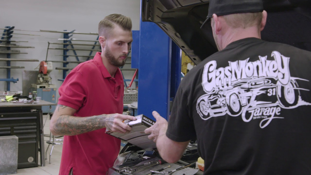 Gas Monkey Garage Engine Tune-Up | Advance Auto Parts Gas Monkey Garage's Jason Aker shows us how to do an engine tune-up with the assistance of Richard Rawlings and Advance Auto Parts employee Derek Moore. He will change out the air filter, serpentine belt and spark plugs on his Ford F150.