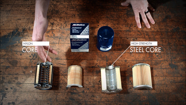 Oil Filters: Filter Out the Facts  | ACDelco Be Certain ACDelco GM Original Equipment Oil Filters strip out dirty oil of harmful particulates to leave your engine happy and healthy. Watch to see it all in action with Adam Genei.
