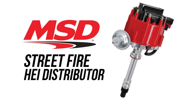 MSD Street Fire HEI Distributor MSD's Street Fire HEI is a distributor spec'ed out by MSD engineers for the value conscious hot rodder! Inside, the ignition module and coil work together to produce a stout spark to light the air/fuel mixture for great performance.