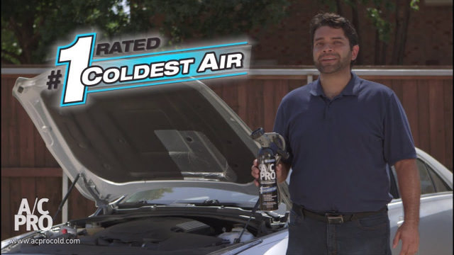 Why Use A/C Pro® to Recharge Your A/C? If your car air conditioner is blowing hot air, A/C Pro® is the quick & easy way to fix it yourself and save money!