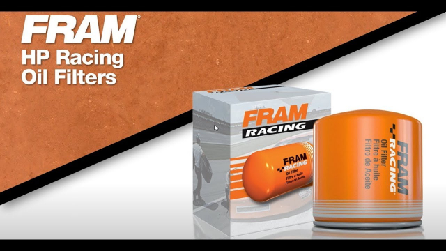 FRAM High Performance Racing Oil Filter FRAM Racing® Oil Filters are optimized for both racing and high performance street cars, and are compatible with all oil types. It's the ultimate racing filter delivering maximum performance and durability on the street and on the track.