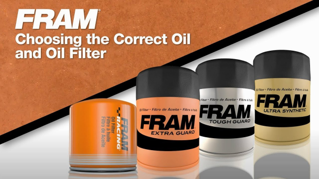 FRAM® - Choosing the Correct Oil & Oil Filter Just because you're a do-it-yourselfer doesn't mean you can't have a little help. And let's be honest, FRAM® is a huge help. We have been for over 85 years. You can trust us to give you the products and advice you need to have the peace of mind you deserve.