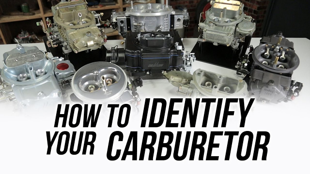 """How To Identify Your Holley & Demon Carburetor If you own a vehicle with a carburetor on it, sooner or later you'll want to rebuild it or maybe  replace some service parts!  But how do you know that you are getting the right parts? When it comes to identifying your carburetor it's not as simple as just saying """"I have a Holley or a Demon"""".  That's like telling the parts guy behind the counter """"I need a water pump for a V8""""!  He's going to need some more information!"""