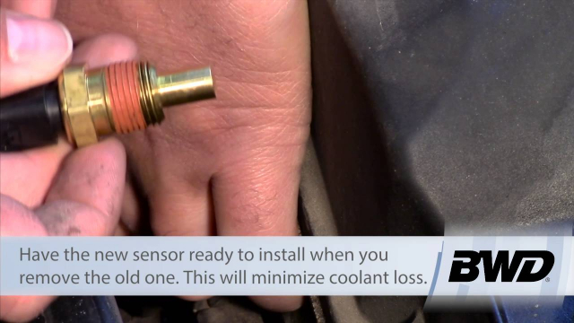 """Engine Coolant Temp Sensor Replacement - Dodge, Chrysler, Plymouth 2.7L Helpful Tips for replacing a Coolant Temperature Sensor on a 2.7 liter engine. Here are the details for the job:  Level of difficulty: BEGINNER Approximate time: 0.5 Hours Tools needed: 3/4"""" socket, 3/8"""" drive ratchet"""