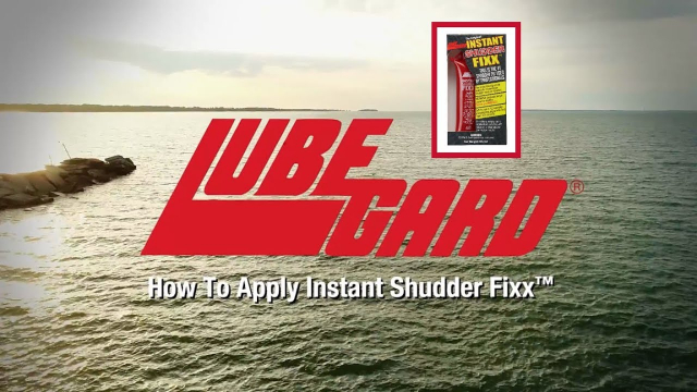 LUBEGARD® How-to - Instant Shudder Fixx -  Shudder Eliminator In this video we show you how to use our Instant Shudder Fixx with proprietary LXE (Liquid Wax Ester) technology, and then we'll answer some of the most common questions about it. If this video helped, please like, share or leave us a comment!