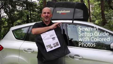 Rightline Gear Sport Car Top Carrier Features Watch this video to learn why the Rightline Gear Sport Car Top Carrier is a top-seller!