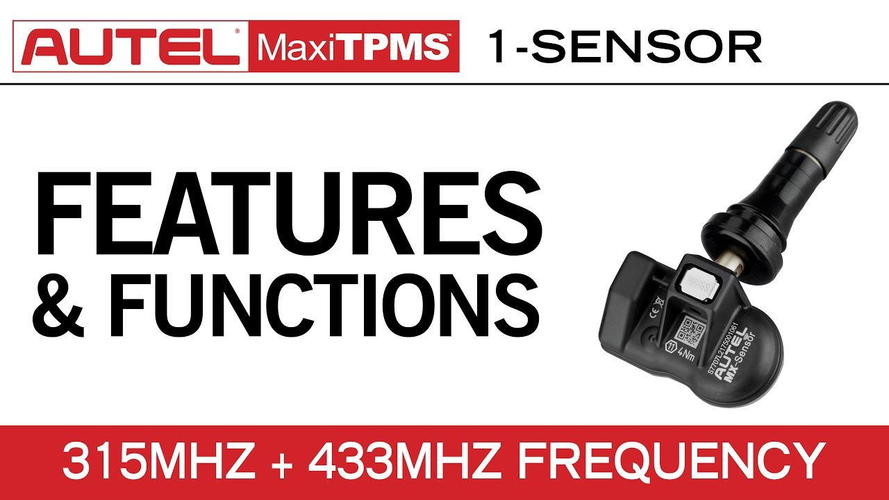 Autel MaxiTPMS TS508 — MX-Sensor Programming - Video