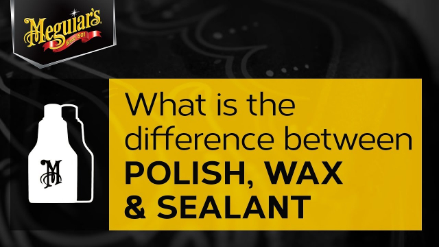 Ask Meguiar's: What is the Difference Between Car Polish, Wax & Sealant? Ask Meguiar's: In general, polishes add depth of color and are gloss enhancers to your paint, some may even have an abrasive to help remove minor defects. Wax protects the paint from the weather and the environment. This is similar to sun screen for your skin, plus they add some additional gloss and shine to your paint. On the other hand, a sealant which is a synthetic polymer, may not give you that extra gloss but it offers superior protection.