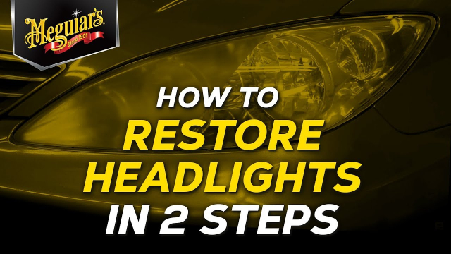 How To Restore Dull and Oxidized Headlights in 2 Steps With Meguiar's Perfect Clarity Headlight Kit Dull and oxidized headlights not only look bad, but they're also a safety hazard by not allowing your headlights to perform properly and with the variety of headlight restoration kits available, it can be a bit overwhelming when choosing the proper kit to restore clarity.