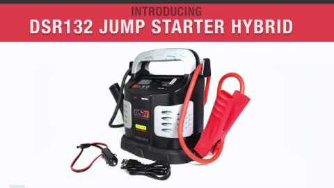 Schumacher Dsr132 Ultra Capacitor Hybrid Jump Starter