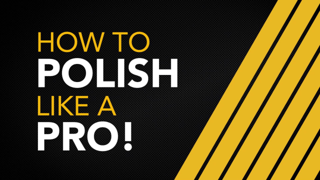 Meguiar's Quick Tips: How to Polish Like a Pro If you want professional results when detailing but don't know where to begin Meguiar's can help you with safely compounding, polishing, and waxing to get the ultimate, swirl-free results! Anyone can get amazing quickly and safely with Meguiar's MT300 Dual Action Polisher and Ultimate Compound, Ultimate Polish, and Ultimate Wax.  For the best results while working with a Dual Action Variable Speed Polisher there are a few techniques to keep in mind:  1. Monitor how much pressure you're applying and make sure the backing plate always continues to spin.  2. Clean Disc/Pad frequently with compressed air or a soft nylon brush.  3. Work in a small area. You want to work in approximately a two foot by two foot section with three to five overlapping passes.  Before polishing thoroughly, wash and dry your car with a premium car wash soap and wash mitt like Meguiar's Microfiber Wash Mitt, and dry it gently with a quality microfiber drying towel like Meguiar's Water Magnet Drying Towel.  Next, inspect the paint for above surface bonded contaminants. Run your clean, dry fingertips over the paint, if it feels rough to the touch you have bonded contaminants and want to clay with Meguiar's Smooth Surface Clay Kit. This will prep the surface for compounding, polishing or waxing.  Using Meguiar's Ultimate Compound, Ultimate Polish and Ultimate Wax with Meguiar's MT300 DA Polisher and Soft Buff DA Low Profile Foam Discs, you can polish like a pro getting the ultimate results when detailing your car.