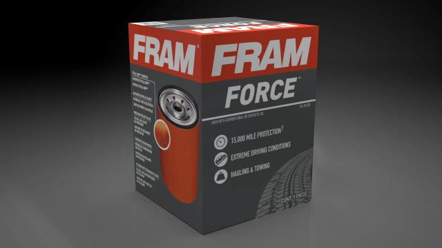 FRAM Force Oil Filter FRAM Force  oil filter product video